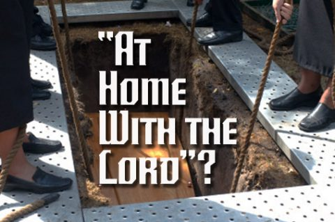 """At Home With the Lord""?"