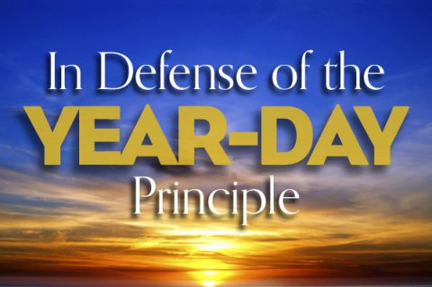 In Defense of the Year-Day Principle